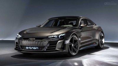 Xe điện cỡ Audi A4 mang nhiều cảm hứng từ e-Tron