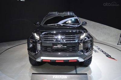 Mitsubishi Triton Absolute 2019 thiết kế đầu xe