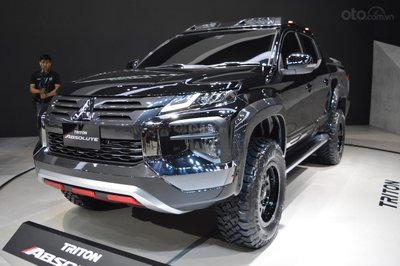 Mitsubishi Triton Absolute 2019 ra mắt