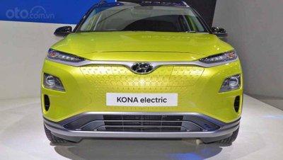 Hyundai Kona Electric ra mắt triển lãm Bangkok 2019 - ảnh đầu xe 2