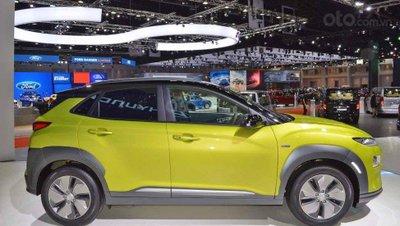Hyundai Kona Electric ra mắt triển lãm Bangkok 2019 - ảnh thân xe