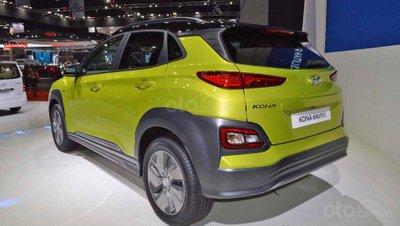 Hyundai Kona Electric ra mắt triển lãm Bangkok 2019 - ảnh đuôi xe 1