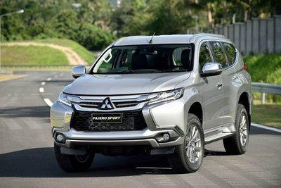 Mitsubishi Pajero Sport phiên bản 2019 tại Việt Nam