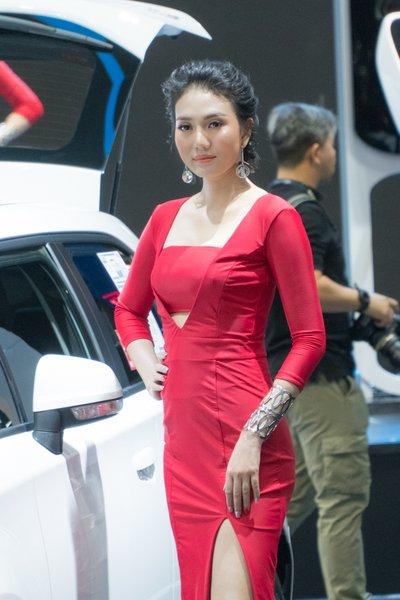 Không chỉ xe, Bangkok Motorshow 2019 còn thu hút khách bởi dàn gái xinh 6aa
