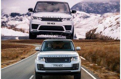 Mức tiêu thụ nhiên liệu của Range Rover và Range Rover Sport 2019