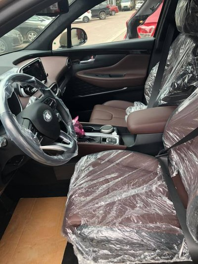 Khách hàng sắp sửa đón Hyundai Santa Fe 2019 'full option' về tay a9