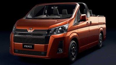 Chiêm ngưỡng Toyota Hiace phiên bản mui trần đặc biệt.