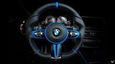 Chiêm ngưỡng BMW X6 M độ nội thất xanh - đen đẹp huyền bí 3