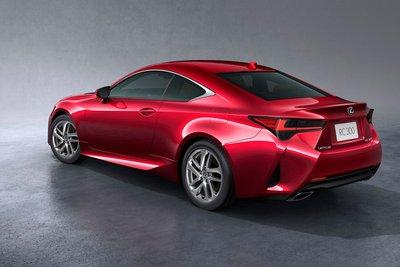 Đuôi xe Lexus RC Coupe 2019 mới