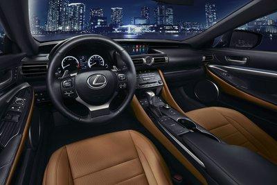 Khoang nội thất Lexus RC Coupe 2019 mới tại Việt Nam