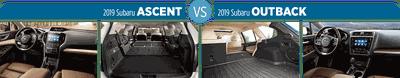 Chọn Subaru Outback 2019 hay Subaru Ascent 2019: Cả 2 đảm bảo trải nghiệm ngồi xe tuyệt vời