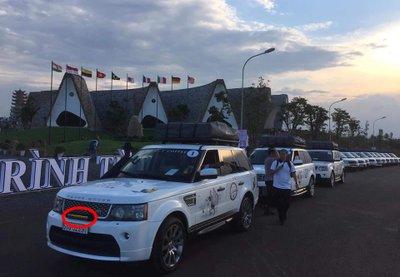 Range Rover được lắp đặt đèn LED