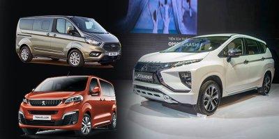 """Chuẩn bị ra mắt, Peugeot Traveller và Ford Tourneo có làm Xpander hết """"HOT""""? A13"""