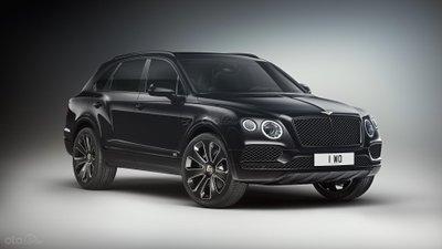 Bentley Bentayga V8 Design Series đầu xe