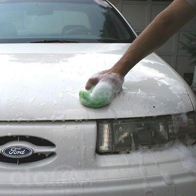 Hướng dẫn sửa xe tróc sơn, ô tô trầy và có rỉ sét tại nhà - Vệ sinh