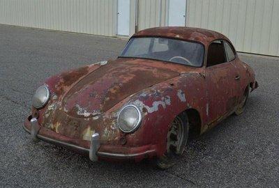 """Porsche 356 """"cổ, nát"""" được chào giá 2 tỷ đồng gây """"sốc"""""""