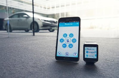 Công nghệ Blue Link của Hyundai.