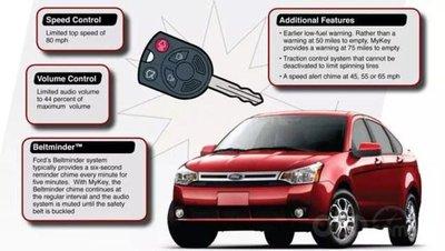 Công nghệ MyKey của Ford.