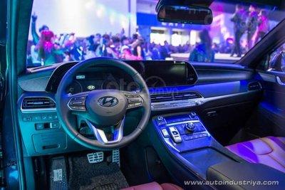 [MIAS 2019] Hyundai Palisade 2019 tích hợp trang bị tân tiến