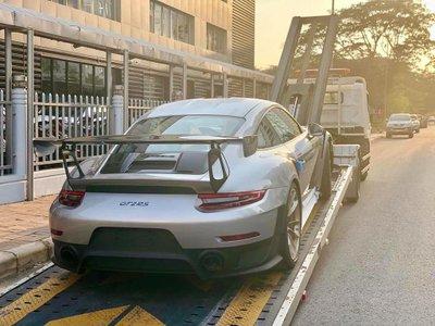 """""""Vua cà phê"""" tậu siêu xe Porsche 911 GT2 RS"""