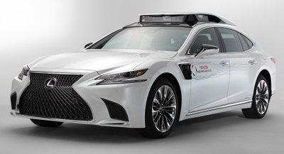 Xe tự hành Lexus