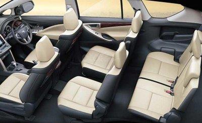 Toyota Innova Crysta 2019 diesel nội thất