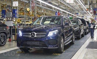 Nhà máy Sindelfingen của Mercedes-Benz.