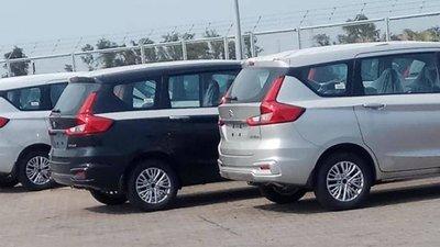 Suzuki Ertiga 2019 xuất hiện trên đường phố Việt Nam a30