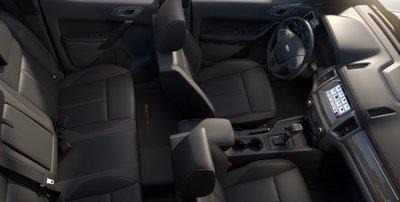 Nội thất xe Ford Ranger 2019