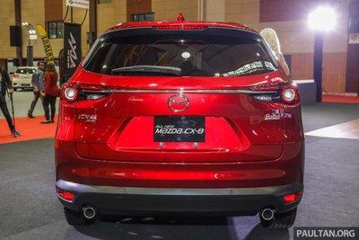 """Một số hình ảnh của Mazda CX-8 xuất hiện tại thị trường """"láng giềng"""" Malaysia - Ảnh 2."""