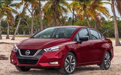 Nissan Sunny 2020 (Versa) thế hệ mới - đầu xe
