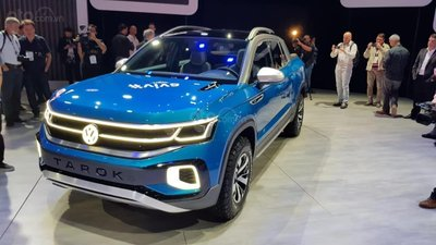 [New York 2019] Volkswagen Tarok Concept cập bến nước Mỹ