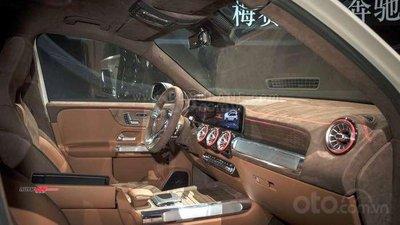 [Thượng Hải 2019] Mercedes Concept GLB trang bị tinh tế