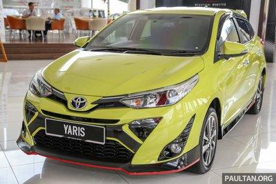 thiết kế ngoại thất Toyota Yaris 2019