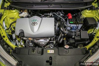 động cơ xe Toyota Yaris 2019