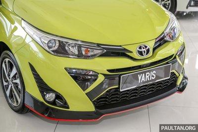 đầu xe Toyota Yaris 2019