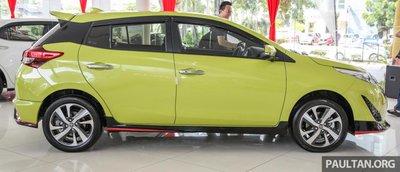thân xe Toyota Yaris 2019