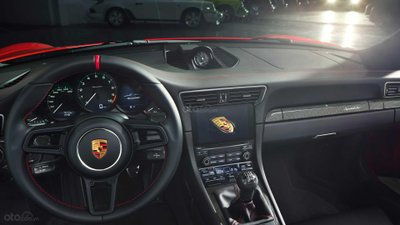 Porsche 911 Speedster 2019 nội thất