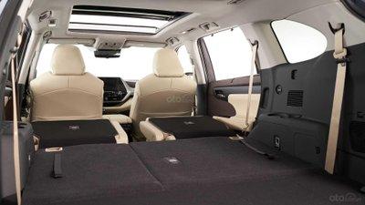 Toyota Highlander 2020 khoang nội thất 2