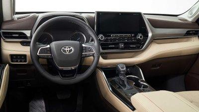 Toyota Highlander 2020 bảng táp lô 1
