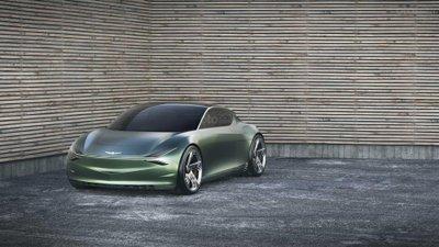 Genesis Mint Concept - đầu xe