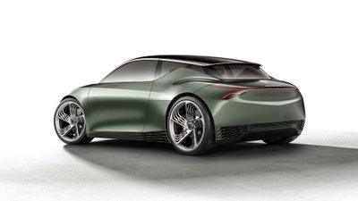 Genesis Mint Concept - đuôi xe