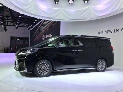 [Thượng Hải 2019] Lexus LM nhập cuộc sân chơi minivan