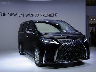 [Thượng Hải 2019] Lexus LM chính thức được tiết lộ dưới dạng minivan sang trọng