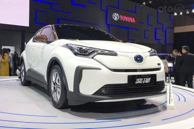 [Thượng Hải 2019] Toyota C-HR EV đặc biệt