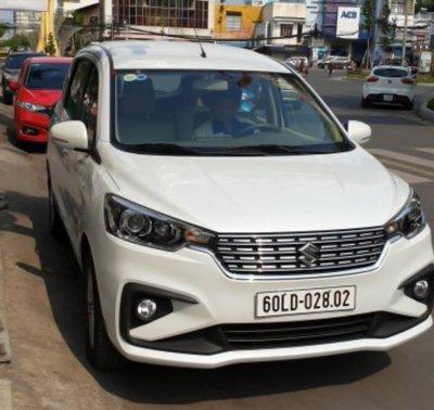 Suzuki Ertiga 2019 xuất hiện trên đường phố Việt Nam a1