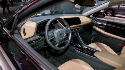 """Hyundai Sonata 2020 trình làng tại Mỹ, thiết kế gần như """"lột xác"""" với đời cũdrh"""