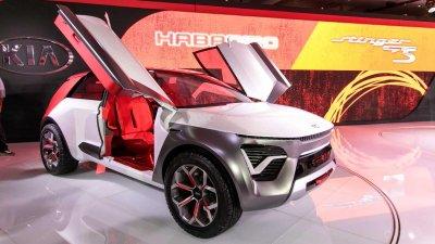 "[New York 2019] Kia Habaniro Concept ra mắt dưới dạng crossover ""rực rỡ"""
