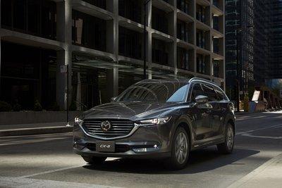 Lộ thêm trang bị Mazda CX-8 sắp bán tại Việt Nam a14