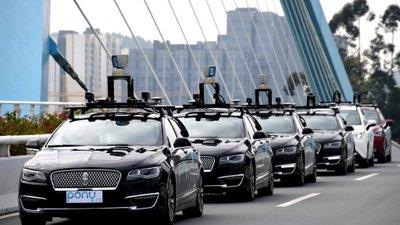 Trung Quốc xây làn đường dành cho xe tự lái a2